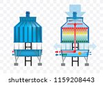 Cooling Tower Vector...