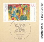germany circa 1993 a stamp... | Shutterstock . vector #1159210840