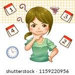 vector illustration cartoon of... | Shutterstock .eps vector #1159220956