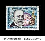 djibouti   circa 1982  post... | Shutterstock . vector #1159221949