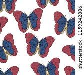 butterfly cartoon drawing... | Shutterstock .eps vector #1159242886