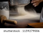 cooking or cookery is the art ... | Shutterstock . vector #1159279006
