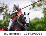 Knights compete during re...
