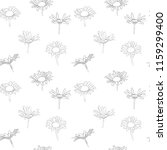 vector seamless pattern with...   Shutterstock .eps vector #1159299400
