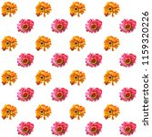 flowers watercolor red and...   Shutterstock . vector #1159320226