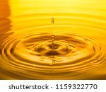 close up of a drop oil on a... | Shutterstock . vector #1159322770