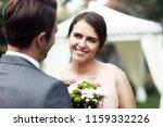 beautiful wedding couple... | Shutterstock . vector #1159332226