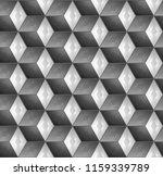 hexagon structure geometric... | Shutterstock . vector #1159339789