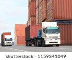 transportation  import export...   Shutterstock . vector #1159341049