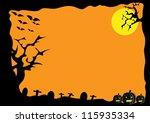 halloween | Shutterstock .eps vector #115935334
