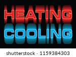 heating cooling is an... | Shutterstock .eps vector #1159384303