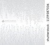 abstract technology digital... | Shutterstock .eps vector #1159387036