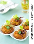 Thai Food Fried Fish Cake  Tod...