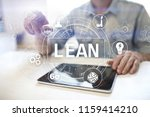 lean manufacturing. quality and ... | Shutterstock . vector #1159414210