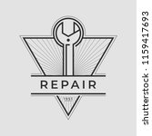 auto mechanic service. mechanic ... | Shutterstock .eps vector #1159417693