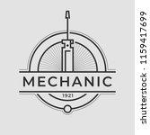auto mechanic service. mechanic ... | Shutterstock .eps vector #1159417699