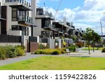Melbourne residential area - Australia - stock photo
