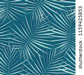 tropical palm leaves pattern...   Shutterstock .eps vector #1159425853