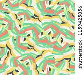tropical palm leaves pattern... | Shutterstock .eps vector #1159425856