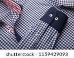 sleeve of a luxury shirt. close ... | Shutterstock . vector #1159429093