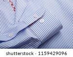 sleeve of a luxury shirt. close ... | Shutterstock . vector #1159429096