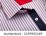 classic men's shirt collar... | Shutterstock . vector #1159431169
