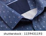 classic men's shirt collar... | Shutterstock . vector #1159431193