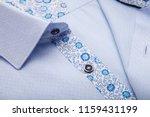 classic men's shirt collar...   Shutterstock . vector #1159431199