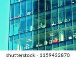 modern office building on a...   Shutterstock . vector #1159432870