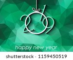 2019 happy new year background... | Shutterstock .eps vector #1159450519