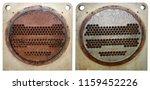 the difference between heat... | Shutterstock . vector #1159452226