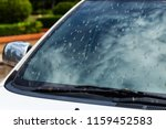 death insects on the windshield ... | Shutterstock . vector #1159452583