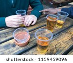 drink with friends | Shutterstock . vector #1159459096