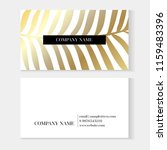 business cards gold and... | Shutterstock .eps vector #1159483396