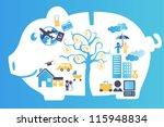 a vector illustration of a... | Shutterstock .eps vector #115948834