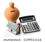 the concept of financial... | Shutterstock . vector #1159511116