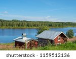 view from pajala in northern... | Shutterstock . vector #1159512136