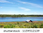 view from pajala in northern... | Shutterstock . vector #1159512139