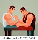 competitions armwrestling game... | Shutterstock .eps vector #1159516663