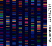 dna test  barcode  card genome  ... | Shutterstock .eps vector #1159517599