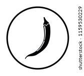 chili pepper  icon. thin circle ...   Shutterstock .eps vector #1159530229