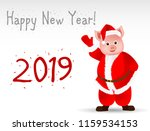 greeting card with the new year ...   Shutterstock .eps vector #1159534153