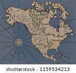 old  fantasy themed north... | Shutterstock .eps vector #1159534213