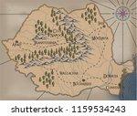 old  fantasy themed romania... | Shutterstock .eps vector #1159534243