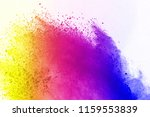 abstract of colored powder... | Shutterstock . vector #1159553839