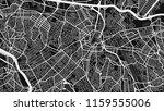 black white map city san paulo   Shutterstock .eps vector #1159555006