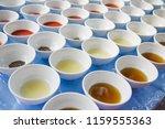 assortment of basic food... | Shutterstock . vector #1159555363