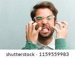 young handsome entrepreneur man ...   Shutterstock . vector #1159559983
