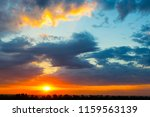 rural grove landscape at the... | Shutterstock . vector #1159563139