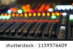 sound recording studio mixing... | Shutterstock . vector #1159576609